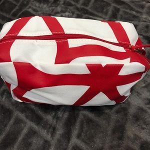 💜3/$25 Clarins makeup bag NWOT